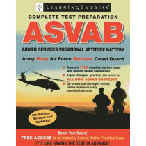 Asvab: Armed Services Vocational Aptitude Battery by LearningExpress LLC, 9781576859292