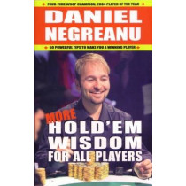 More Hold'em Wisdom for All Players by Daniel Negreanu, 9781580422246