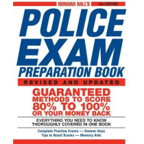 Norman Hall's Police Exam Preparation Book by Norman Hall, 9781580628426
