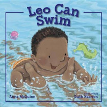 Leo Can Swim by Anna McQuinn, 9781580897259
