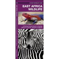 East Africa Wildlife: A Folding Pocket Guide to Familiar Species in Kenya, Tanzania & Uganda by James Kavanagh, 9781583559383