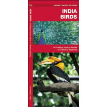 India Birds: A Folding Pocket Guide to Familiar Species by James Kavanagh, 9781583559390