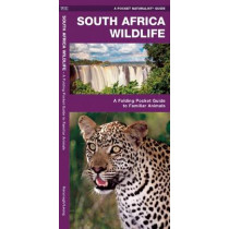 South Africa Wildlife: A Folding Pocket Guide to Familiar Animals by James Kavanagh, 9781583559871