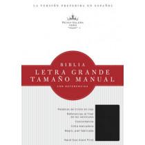 RVR 1960 Biblia Letra Grande Tamano Manual, negro imitacion piel, 9781586408794