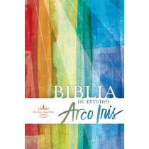 RVR 1960 Biblia de Estudio Arco Iris, multicolor, tapa dura, 9781586409845