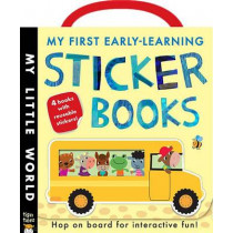 My First Early-Learning Sticker Books by Jonathan Litton, 9781589254503