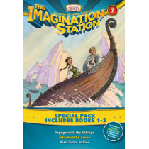 Imagination Station Books 3-Pack: Voyage with the Vikings / Attack at the Arena / Peril in the Palace by Paul McCusker, 9781589976955