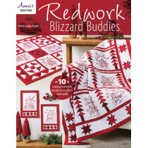 Redwork Blizzard Buddies: 10 Unique Redwork Projects to Stitch and Quilt by Pearl Louise Krush, 9781590126615