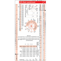 ECG Ruler Pocketcard by Borm Bruckmeier Publishing, 9781591030027