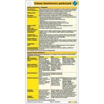 Urinary Incontinence Pocketcard by Borm Bruckmeier Publishing, 9781591030690