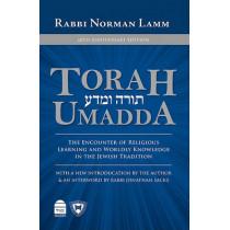 Torah Umadda by Norman Lamm, 9781592643097