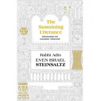 The Sustaining Utterance: Discourses on Chassidic Thought by Adin Steinsaltz, 9781592643196