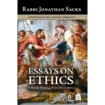 Essays on Ethics by Rabbi Jonathan Sacks, 9781592644490