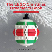 The Lego Christmas Ornaments Book by Chris McVeigh, 9781593277666