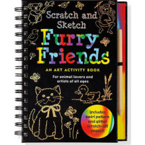Scratch & Sketch Furry Friends by Martha Day Zschock, 9781593597788