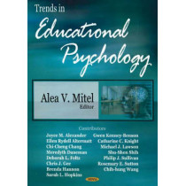 Trends in Educational Psychology by Alea V. Mitel, 9781594548130