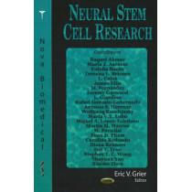 Neural Stem Cell Research by Erik V. Grier, 9781594548468