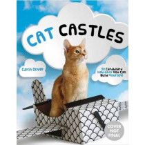 Cat Castles: 20 Cardboard Habitats You Can Build Yourself by Carin Oliver, 9781594749414