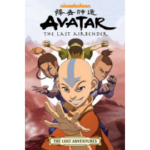 Avatar: The Last Airbender: The Lost Adventures by May Chan, 9781595827487