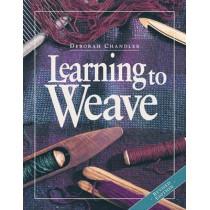 Learning to Weave by Deborah Chandler, 9781596681392