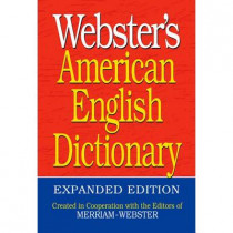 Webster's American English Dictionary by Merriam-Webster, Inc., 9781596951549