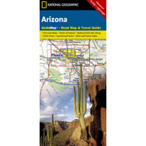 Arizona: State Guide Maps by National Geographic Maps, 9781597750868