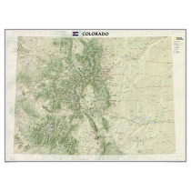 Colorado, Tubed: Wall Maps U.S. by National Geographic Maps - Reference, 9781597752343