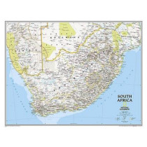 South Africa Classic, Tubed: Wall Maps - Countries & Regions by National Geographic Maps, 9781597755887
