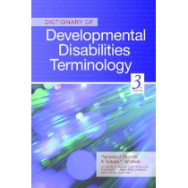 Dictionary of Developmental Disabilities Terminology by Pasquale Accardo, 9781598570700