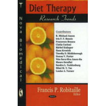 Diet Therapy Research Trends by Alicia P. Willis, 9781600216701