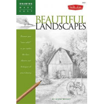 """Beautiful Landscapes: Discover your """"inner artist"""" as you explore the basic theories and techniques of pencil drawing by Diane Wright, 9781600580116"""