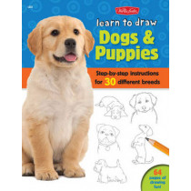 Learn to Draw Dogs & Puppies: Step-by-step instructions for more than 25 different breeds by Robbin Cuddy, 9781600583902