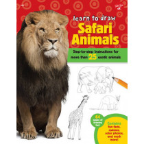 Safari Animals (Learn to Draw): Step-By-Step Instructions for More Than 25 Exotic Animals by Robbin Cuddy, 9781600584817