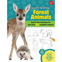 Forest Animals (Learn to Draw): Step-By-Step Instructions for More Than 25 Woodland Creatures by Robbin Cuddy, 9781600584824