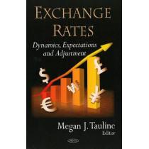 Exchange Rates: Dynamics, Expectations & Adjustment by Megan J. Tauline, 9781604563344
