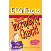 ECG Facts Made Incredibly Quick! by Lippincott, 9781605474762