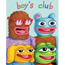 Boy's Club by Matt Furie, 9781606999196