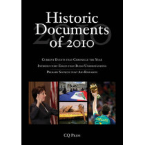 Historic Documents of 2010 by C. Q. Press, 9781608717248