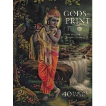 Gods in Print: The Krishna Poster Collection by Mark Baron, 9781608875429