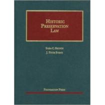 Historic Preservation Law by Sara Bronin, 9781609301064
