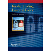 Insider Trading Law and Policy by Stephen Bainbridge, 9781609304300
