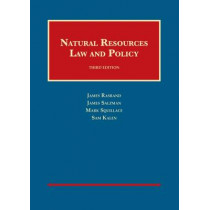 Natural Resources Law and Policy by James Rasband, 9781609304423