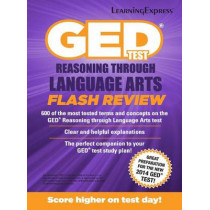 GED Test RLA Flash Review by LearningExpress LLC, 9781611030075