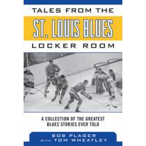 Tales from the St. Louis Blues Locker Room: A Collection of the Greatest Blues Stories Ever Told by Bob Plager, 9781613214015