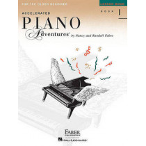 Accelerated Piano Adventures for the Older Beginner - Lesson Book 1 by Nancy Faber, 9781616772055