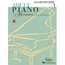 Faber Piano Adventures: Adult Piano Adventures All-in-One - Lesson Book 1 by Nancy Faber, 9781616773021