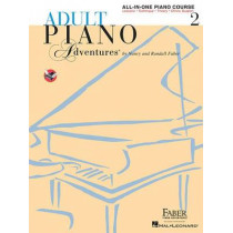 Adult Piano Adventures: All-in-One Lesson Book 2 by Nancy Faber, 9781616773342