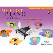My First Piano Adventure - Lesson Book C/CD by Nancy Faber, 9781616776237