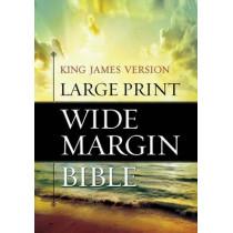 KJV Wide Margin Bible by Hendrickson, 9781619700895
