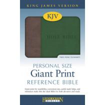 KJV Personal Size Giant Print Reference Bible by Hendrickson Bibles, 9781619706804